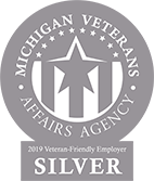 Michigan Veterans Affairs Agency: Silver 2019 Veteran-Friendly Employer