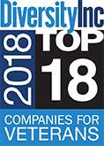 Diversity Inc 2018 Top 18 Companies for Veterans