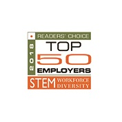 readers choice top 50 employer
