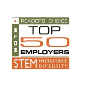2019 Readers' Choice: Top 50 Employers. STEM Workforce Diversity