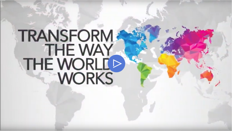 Transform the Way the World Works video.