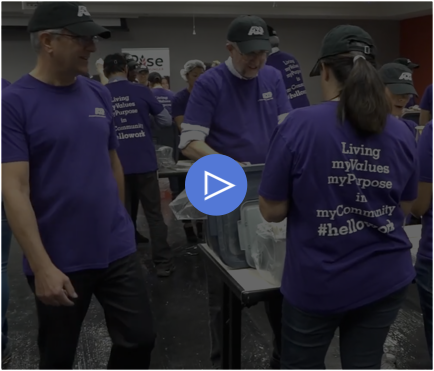 ADP 1 Million Meals for Rise Against Hunger - video