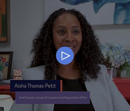 video: Aisha Thomas-Petit ADP's Chief Diversity, Inclusion & CSR Officer