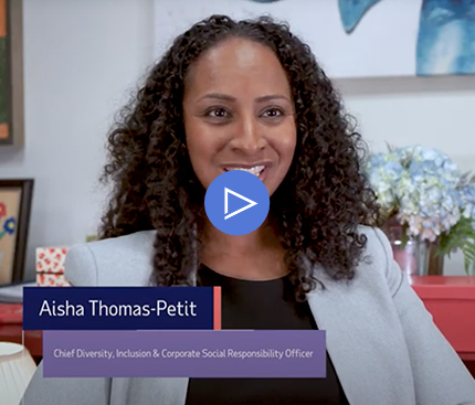 Aisha Thomas-Petit, ADP's Chief Diversity, Inclusion & Corporate Social Responsibility Officer