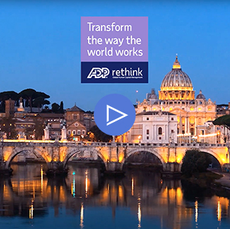ADP - Transform The Way The World Works video