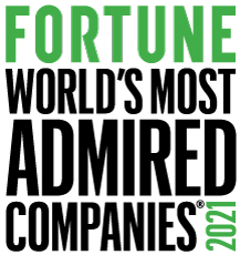 Fortune 2021: World's Most Admired Companies