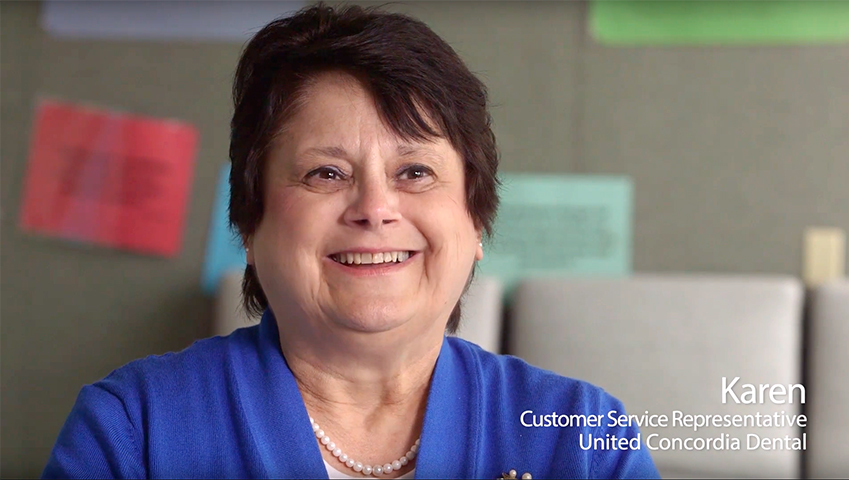 karen Customer Service Representative United Concordia Dental: youtube video