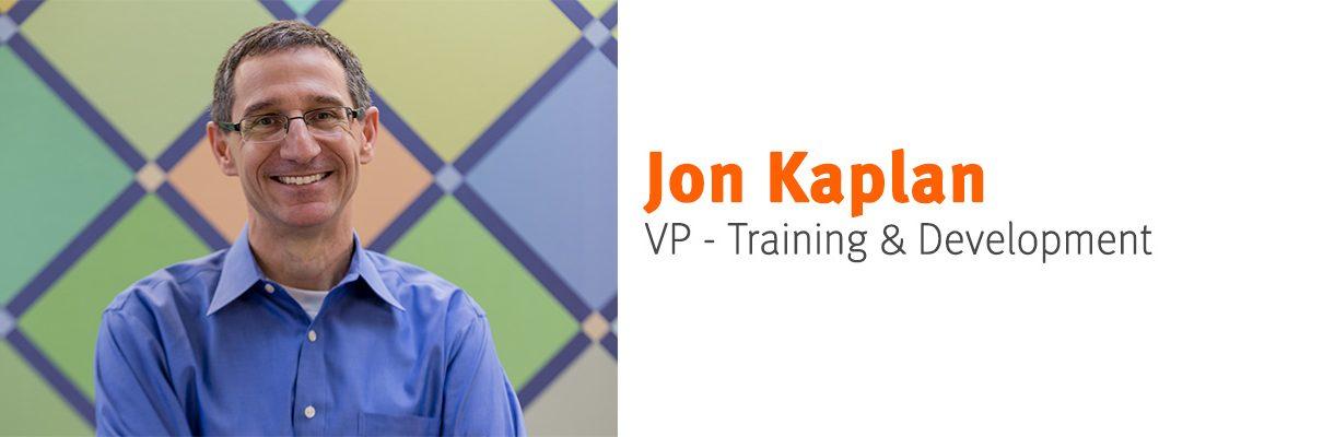 Jon Kaplan vp-training & development