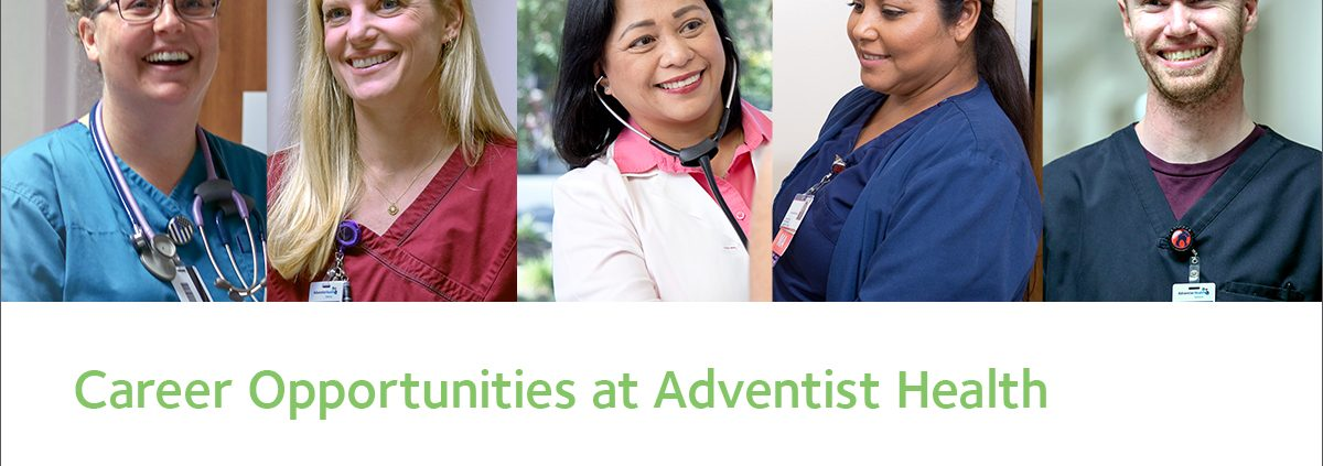 Careers at Adventist Health Southern California Region