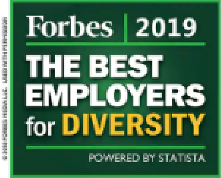 2019 Forbes Best Employers for Diversity