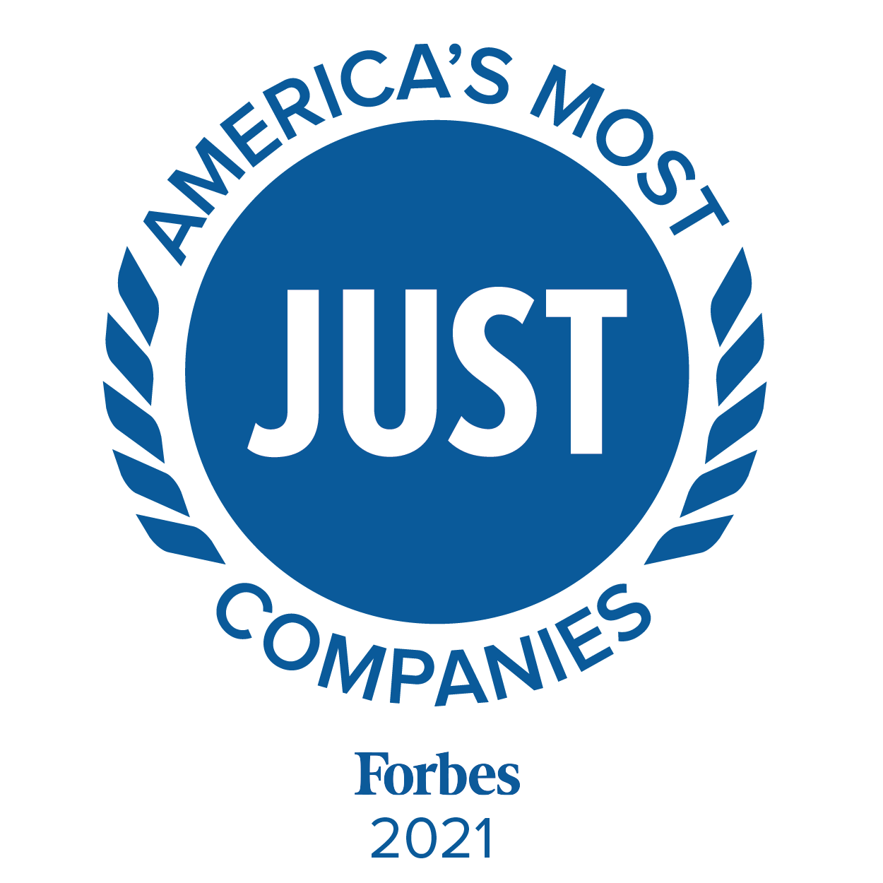 America's Most Just Companies, Forbes, 2021