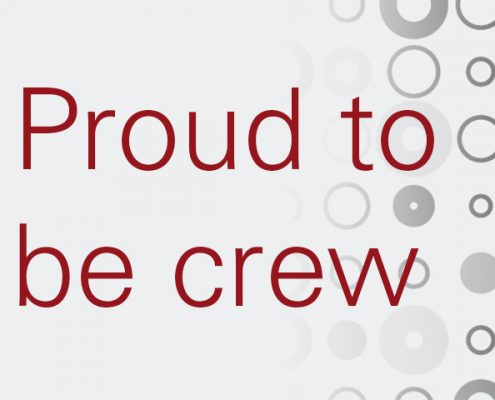 Proud to be crew