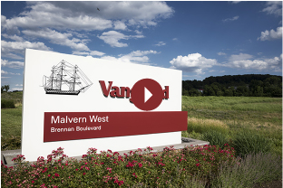 Malvern West entrance sign