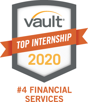 Vault Top Internship 2020 #4 Financial Services