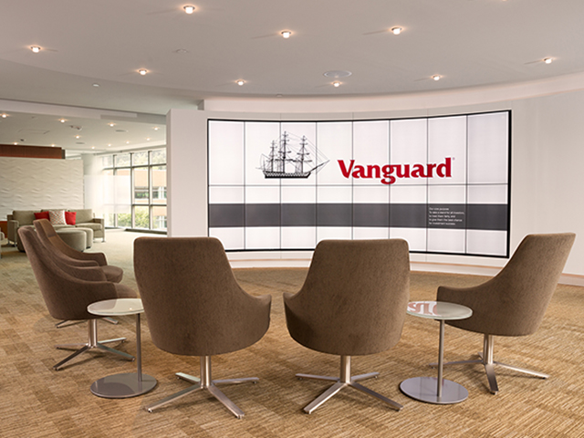 Vanguard Orion Client Center seating area