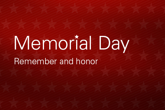 Memorial Day Remember and Honor