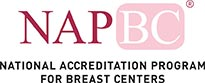 National accredition program for breast cancers