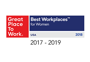 Great Place to Work named First American one of the Best Workplaces for Women from 2017 to 2019.