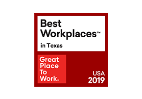 For 2018 and 2019, First American was named one of a Great Place to Work in Texas.