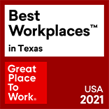 For 2018 and 2021, First American was named one of a Great Place to Work in Texas.