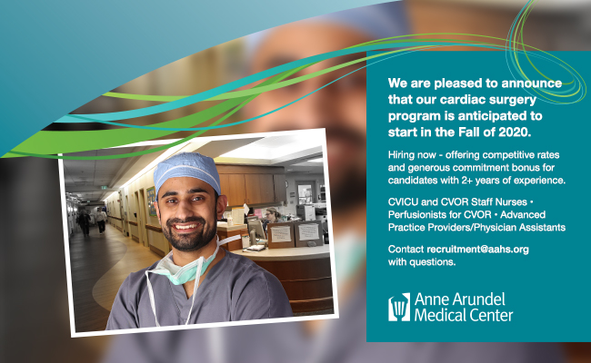 We are pleased to announce that our Cardiac surgery program is anticipated to start in Fall of 2020.