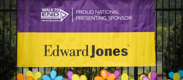 Walk to End Alzheimer's: Alzheimer's Association. Proud National Presenting Sponsor: Edward Jones.