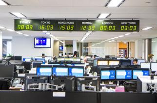 Hong Kong office interior