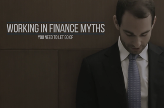 Working in finance myths
