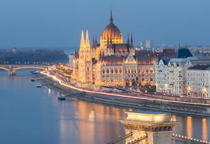 Landscape Image of Budapest