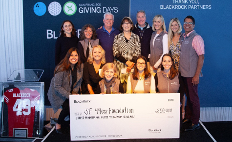 BlackRock employees raising money for 49ers foundation