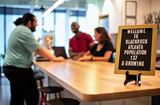 Welcome to BlackRock Atlanta population 137 & growing