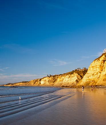 Beach of San Diego
