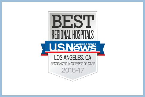 Huntington Hospital is ranked as 4th best hospital in Los Angeles and 9th best in California by U.S. News & World Report