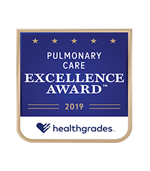 Healthgrades Pulmonary Care Excellence Award™ 2019