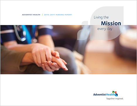 Adventist Health Nursing Annual Report